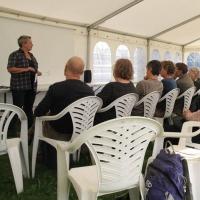 Debatoplæg ved Grøn Festival i Økologiens Have, Odder, 30. august 2015