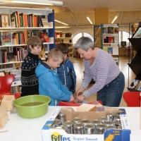 Naturværksted på Faaborg Bibliotek, 24. marts 2012