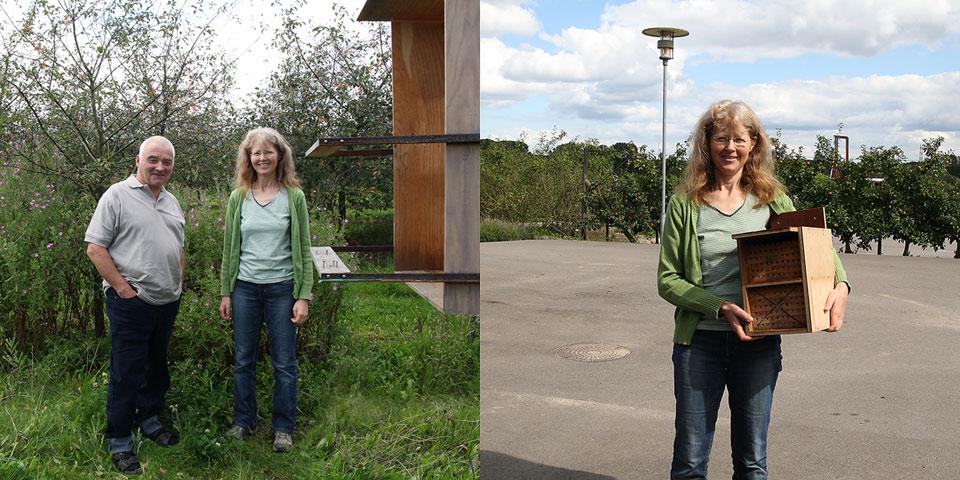 Besøg på Pometet i august 2011