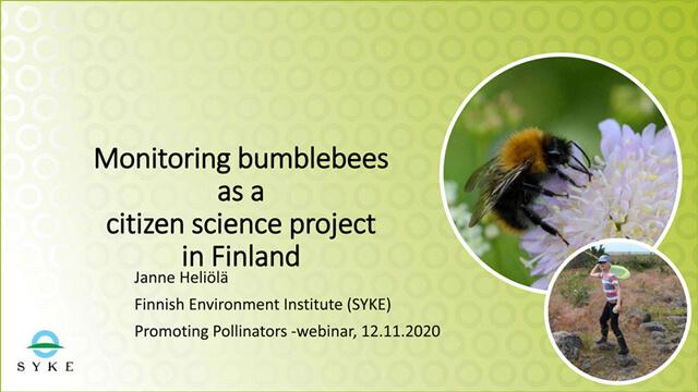 Presentation by Janne Heliola, Finland