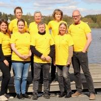 Det danske hold ved Nordisk Landbrugsworkshop i Vikersund