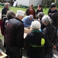 Byg en humlebikasse på Naturskolen ved Maribo, DN Lolland, 17. maj 2015