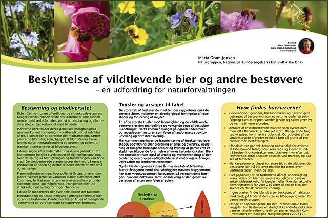 Poster fra Biodiversitetssymposiet
